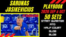 playbook jasikevicius barcelona sept oct 2020